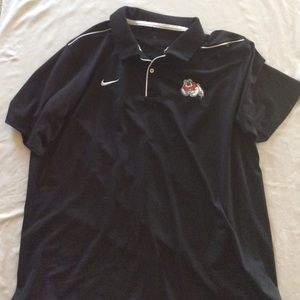 Fresno State Black Polo
